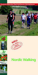 Titel Flyer Nordic Walking